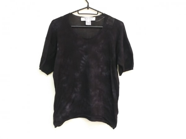 コムデギャルソン コムデギャルソン 半袖セーター サイズS レディース美品
