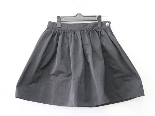 バーバリーブルーレーベル ミニスカート サイズ36 S レディース 黒