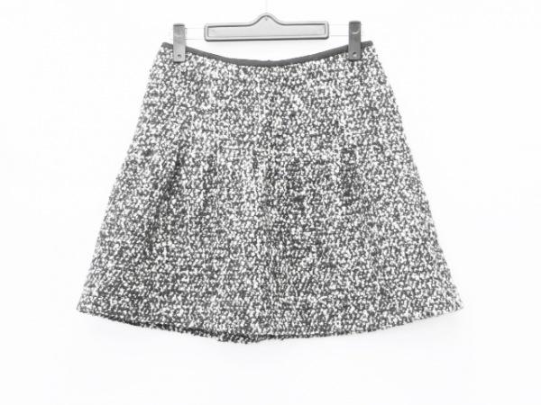 バーバリーブルーレーベル ミニスカート サイズ36 S レディース 黒×白