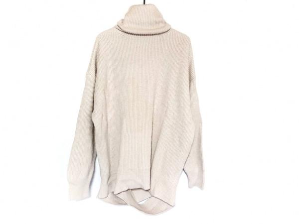 Mila Owen(ミラオーウェン) 長袖セーター サイズ1 S レディース美品  ベージュ