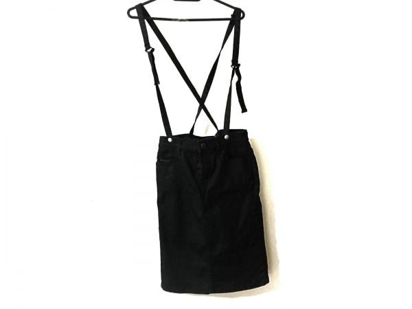 DIESEL(ディーゼル) スカート サイズ23 レディース美品  黒