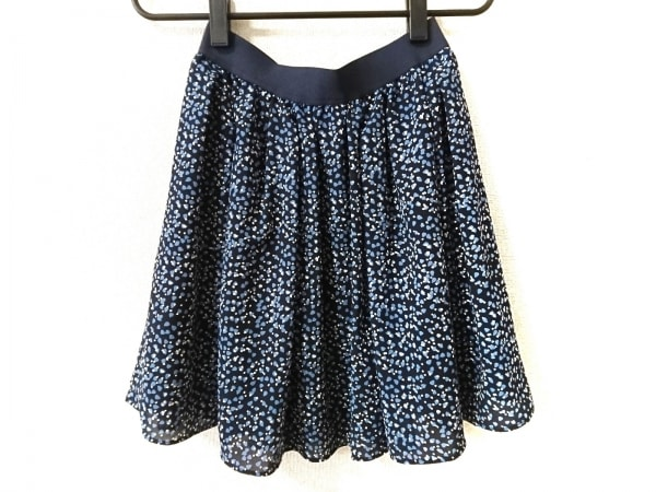 バーバリーブルーレーベル スカート サイズ38 M レディース美品  ジップアップ