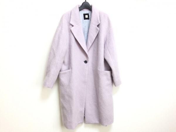 MICHELKLEIN(ミッシェルクラン) コート サイズ38 M レディース美品  ピンク 冬物