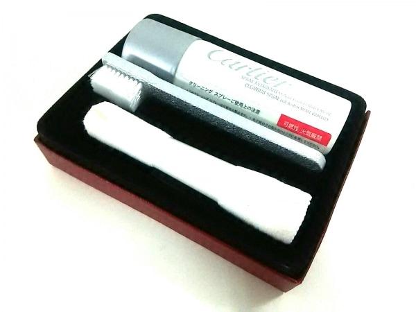 Cartier(カルティエ) 小物美品  白×シルバー 時計用クリーニングスプレー