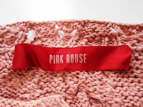 PINK HOUSE(ピンクハウス) カーディガン レディース ピンク×レッド×カーキ ブドウ