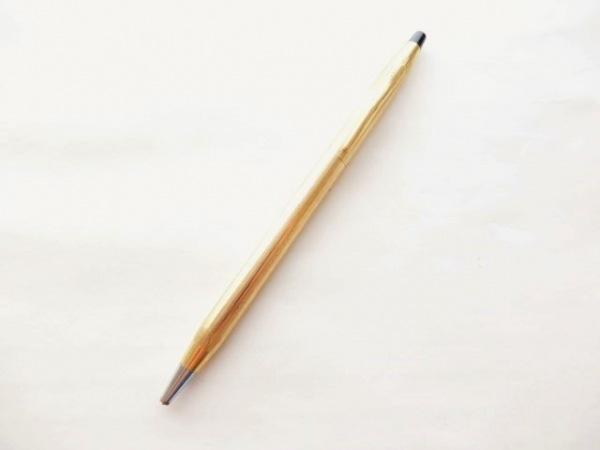 CROSS(クロス.) ボールペン ゴールド×シルバー インクあり(黒) 金属素材