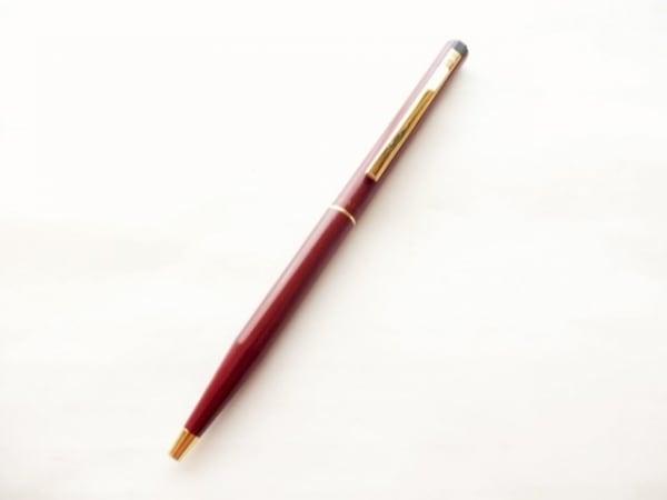 シェーファー ボールペン美品  ボルドー×ゴールド インクあり(黒) 金属素材