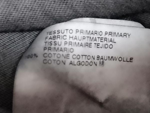 ディースクエアード 半袖Tシャツ サイズL メンズ新品同様  ダークグレー ダメージ加工