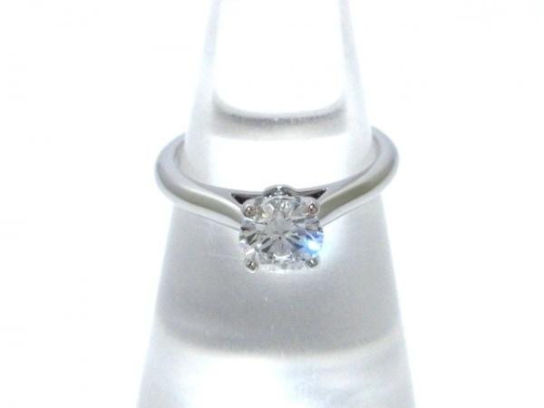 Cartier(カルティエ) リング 47新品同様  ソリテール1895 N41374 Pt950×ダイヤモンド