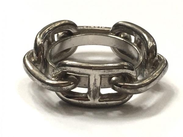 HERMES(エルメス) スカーフリング シェーヌダンクル 金属素材 シルバー