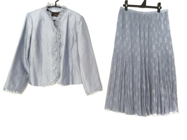 Leilian(レリアン) スカートスーツ サイズ13 L レディース ライトブルー