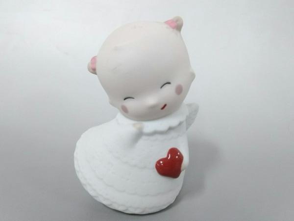 NAO(ナオ) 小物美品  アイボリー×白×マルチ 天使/置物 陶器