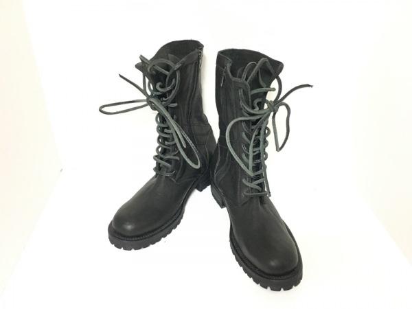 ISAMUKATAYAMA BACKLASH(イサムカタヤマ バックラッシュ) ブーツ 26 メンズ 黒 レザー