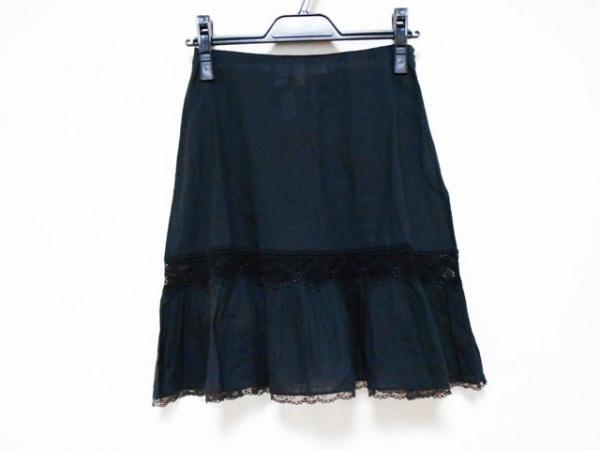 ANNA MOLINARI(アンナモリナーリ) スカート サイズI 40 レディース 黒