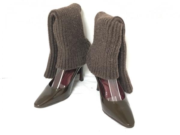 LOUIS VUITTON(ルイヴィトン) 靴 35 レディース ダークブラウン アウトソール張替済