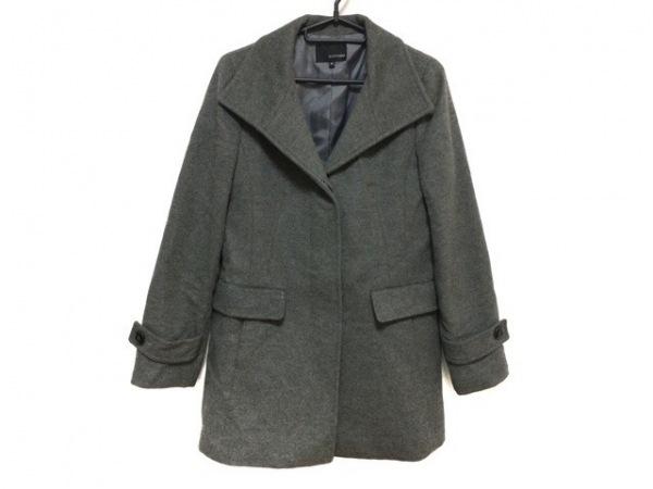 ヴァンドゥ オクトーブル コート サイズ38 M レディース新品同様  グレー 冬物