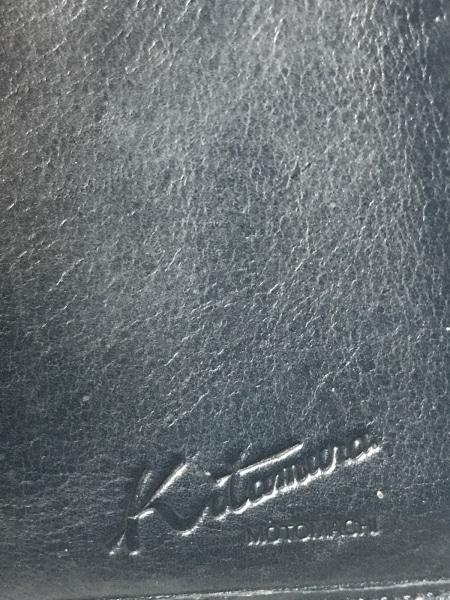 KITAMURA(キタムラ) 3つ折り財布 ネイビー がま口 レザー 5