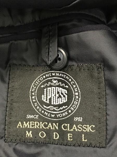 J.PRESS(ジェイプレス) ジャケット メンズ美品  ダークネイビー 肩パッド/ネーム刺繍