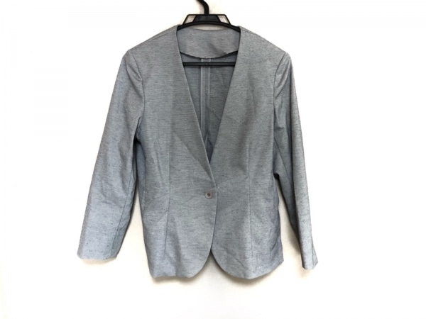 AMACA(アマカ) ジャケット サイズ40 M レディース美品  ライトグレー