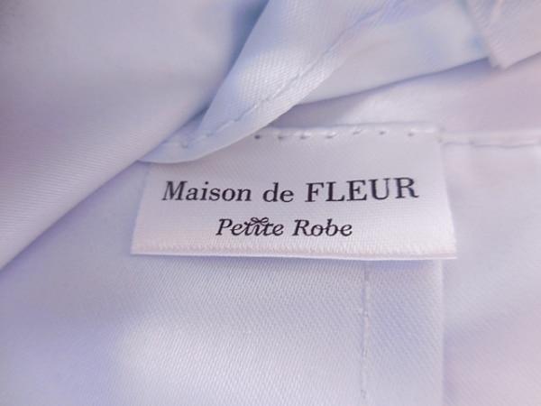 Maison de FLEUR(メゾンドフルール) 財布美品  ライトブルー×マルチ 花柄 ナイロン
