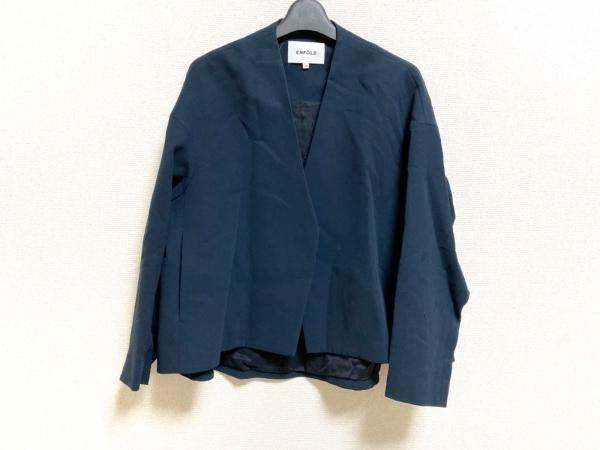 ENFOLD(エンフォルド) ジャケット サイズ36 S レディース美品  ネイビー