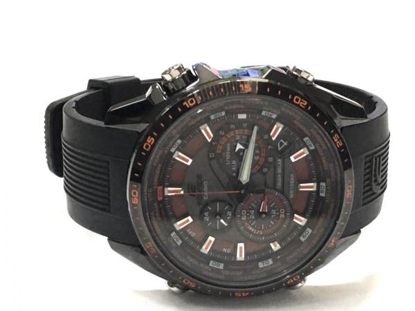 CASIO(カシオ) 腕時計 エディフィス EQS-500 メンズ ラバーベルト/クロノグラフ