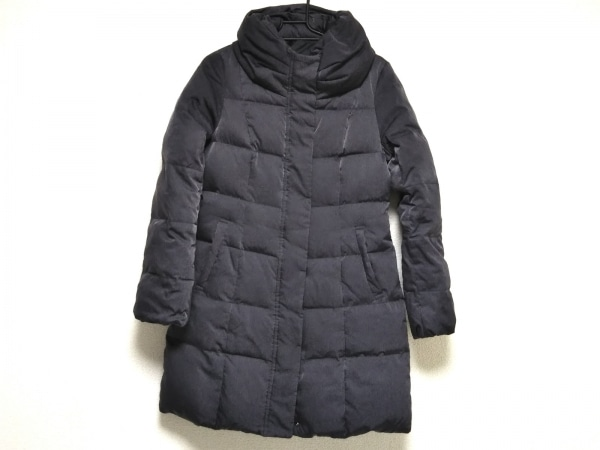 クードシャンス ダウンコート サイズ36 S レディース美品  ダークグレー 冬物