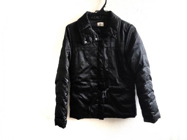 Lacoste(ラコステ) ダウンジャケット サイズ42 L レディース美品  黒 冬物