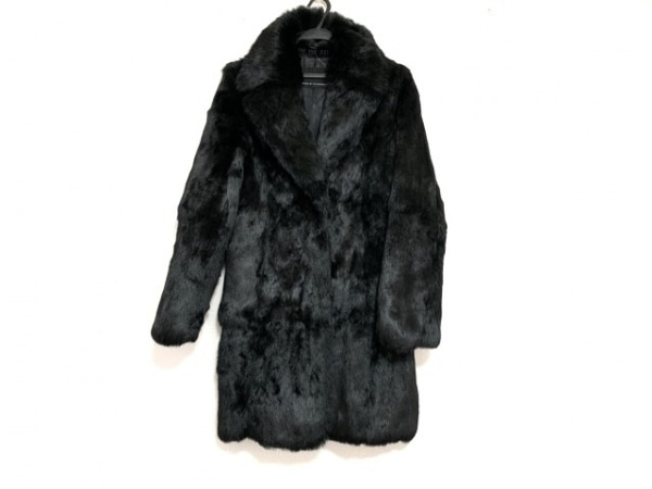 VICKY(ビッキー) コート レディース美品  黒 毛皮