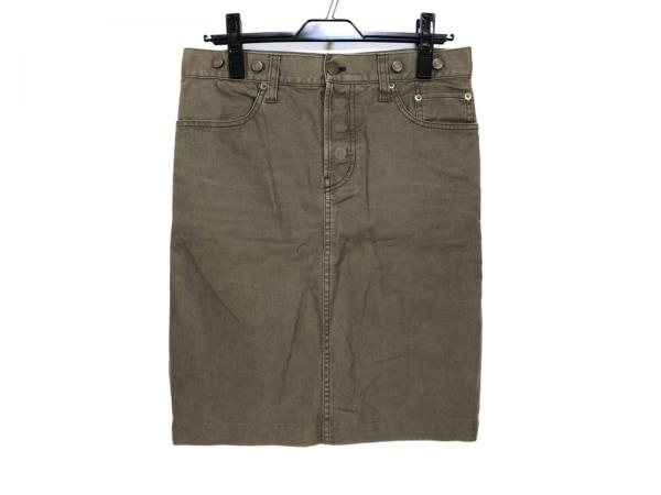 DEUXIEME CLASSE(ドゥーズィエム) スカート サイズ36 S レディース カーキ