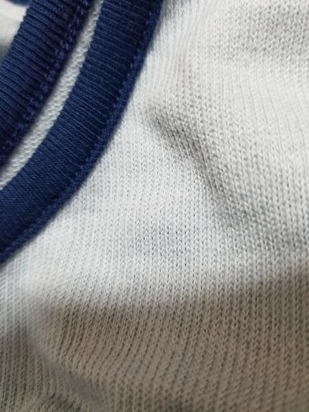 ポータークラシック タンクトップ サイズL メンズ美品  ライトブルー×ネイビー