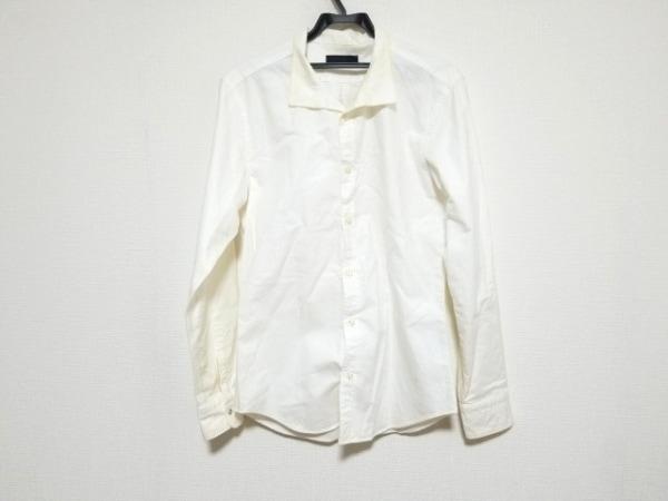 jun hashimoto(ジュンハシモト) 長袖シャツ サイズ5 XL メンズ 白