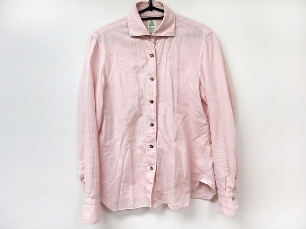finamore(フィナモレ) 長袖シャツブラウス サイズ42 L レディース ピンク