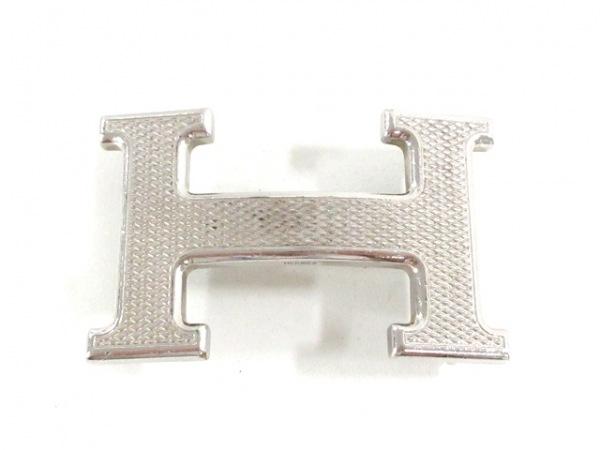 HERMES(エルメス) 小物 シルバー バックル 金属素材