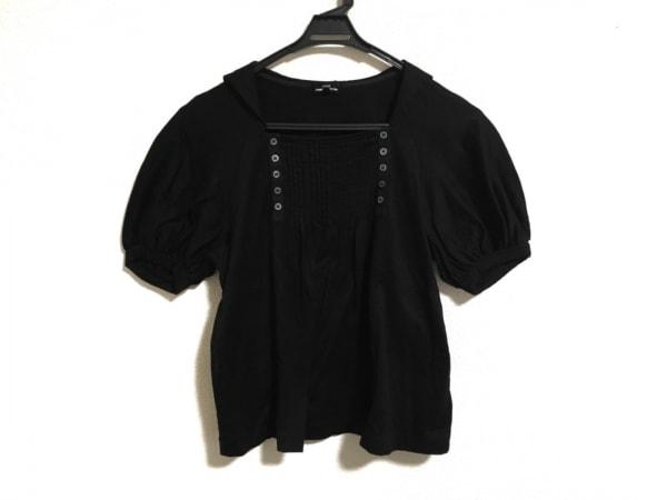 トリココムデギャルソン 半袖カットソー サイズS レディース美品  黒