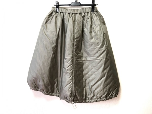 JILSANDER(ジルサンダー) スカート サイズ36 S レディース美品  グレー