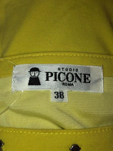 PICONE(ピッコーネ) ワンピース サイズ38 S レディース イエロー