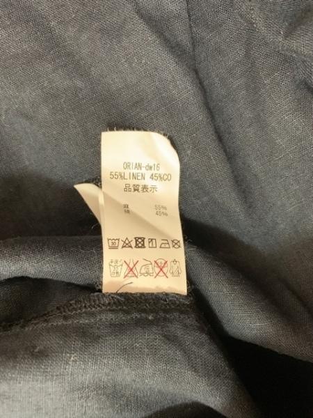 ORIAN(オリアン) 長袖シャツ サイズM メンズ美品  ダークネイビー vintage