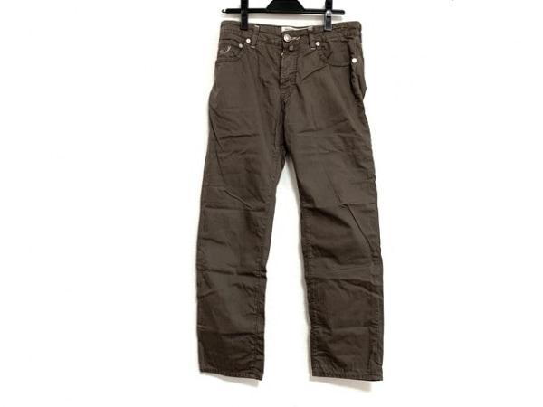 ヤコブコーエン パンツ サイズ31 メンズ ブラウン Tailored jeans/ボタンフライ