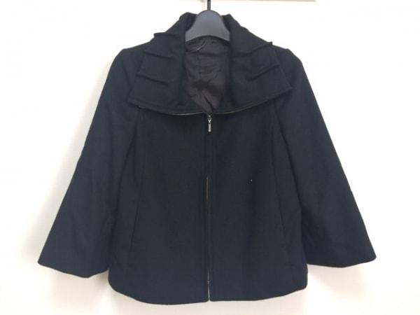 ANAYI(アナイ) ジャケット サイズ38 M レディース 黒 ジップアップ