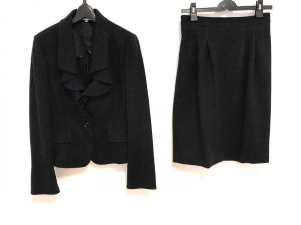 NARACAMICIE(ナラカミーチェ) スカートスーツ レディース美品  黒 フリル