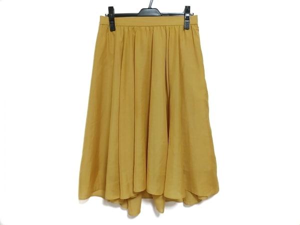 Rose Tiara(ローズティアラ) スカート サイズ42 L レディース イエロー