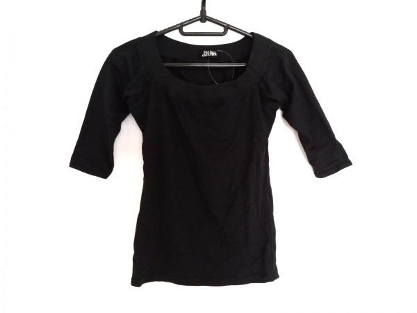 JeanPaulGAULTIER(ゴルチエ) 七分袖Tシャツ サイズ9 M レディース 黒