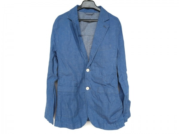 ABAHOUSE(アバハウス) ジャケット サイズ3 L メンズ美品  ブルー デニム