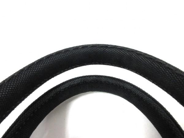 プラダ トートバッグ CANAPA 1BG439 黒×アイボリー キャンバス 5