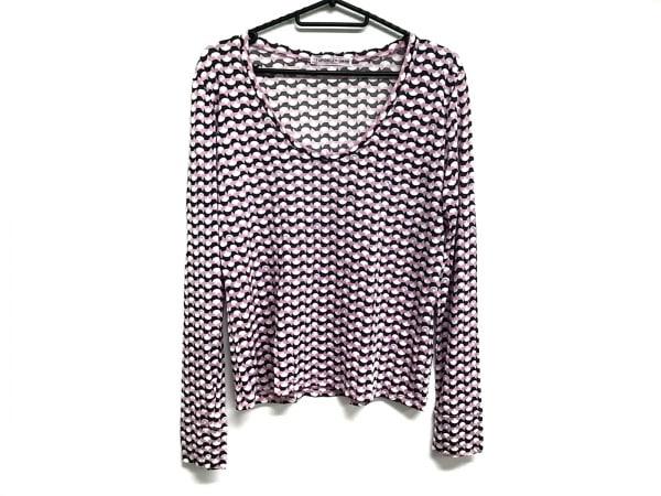 TSUMORI CHISATO(ツモリチサト) 長袖Tシャツ レディース ピンク×黒×白