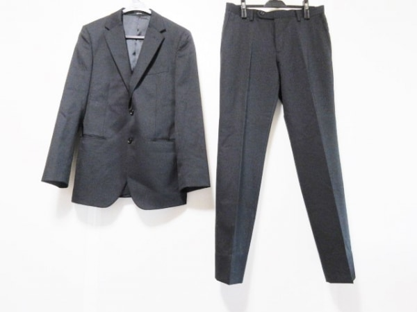 COMME CA ISM(コムサイズム) シングルスーツ サイズM メンズ 黒