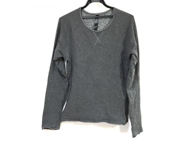 WJK(ダブルジェイケイ) 長袖Tシャツ サイズXL メンズ グレー