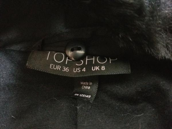TOPSHOP(トップショップ) ブルゾン サイズ36 EUR レディース 黒
