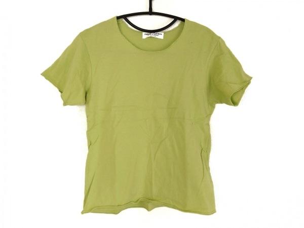 ローブドシャンブル コムデギャルソン 半袖Tシャツ レディース ライトグリーン